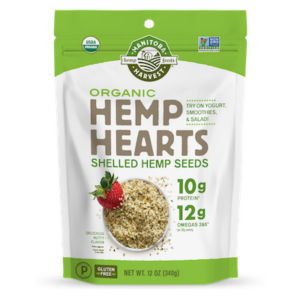 package of Manitoba hemp hearts
