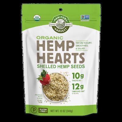 package of Manitoba hemp hearts