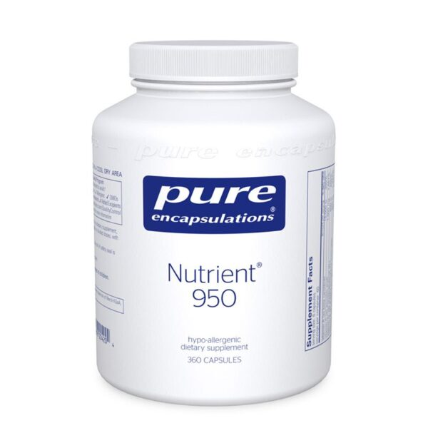 Bottle of Pure Encapsulations Nutrient 950