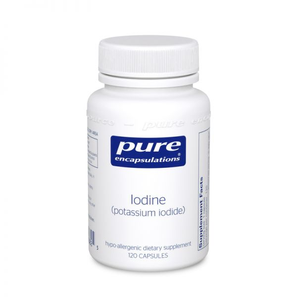 Bottle of Pure Encapsulations Potassium Iodide