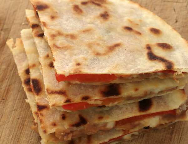 grain-free plant-based quesadillas