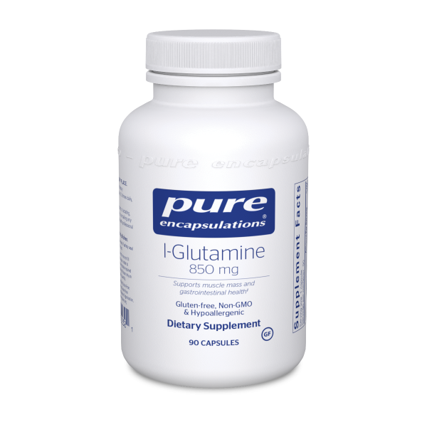 Bottle of Pure Encapsulations L-Glutamine