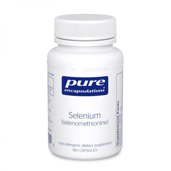 Bottle of Pure Encapsulations Selenium