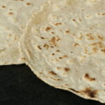 Two Vegan Gluten Free Tortillas