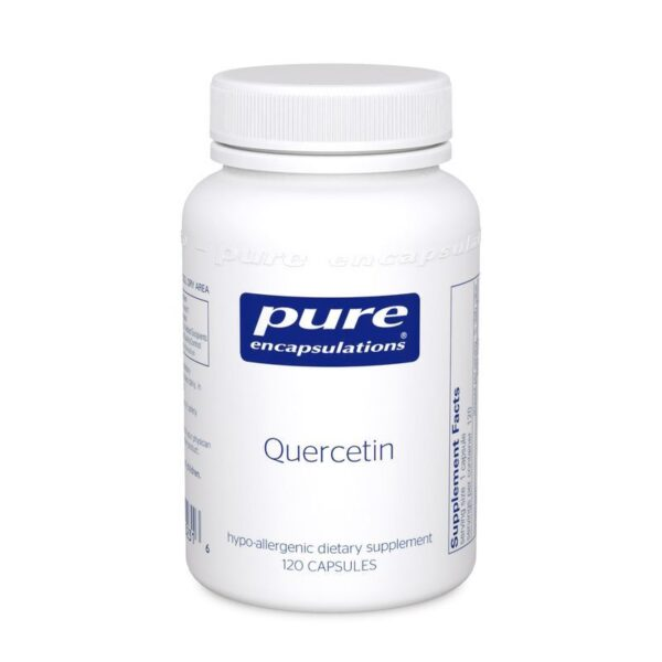 Bottle of Pure Encapsulations Quercetin