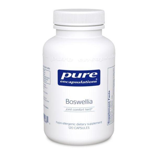 Bottle of Pure Encapsulations Boswellia