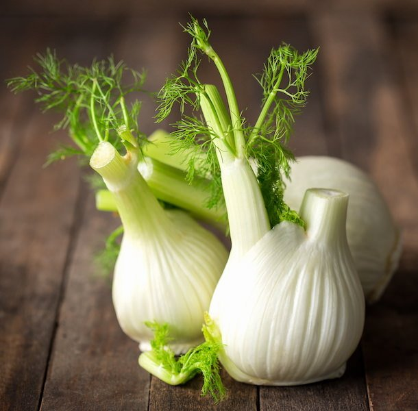 3 bulbs of fennel