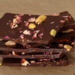 Stack of Dark Chocolate Bark