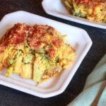 Two dishes of Sweet Potato au Gratin